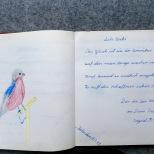 war ich von diesem Vogel fasziniert, und den Spruch vom Omnibus fand ich auch toll!