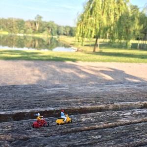 Miniaturroller im Park