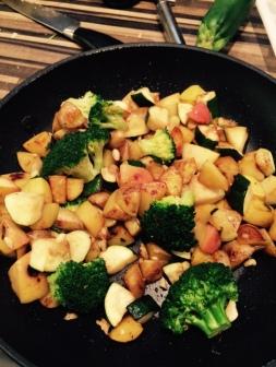 Herbstliche Kartoffelpfanne