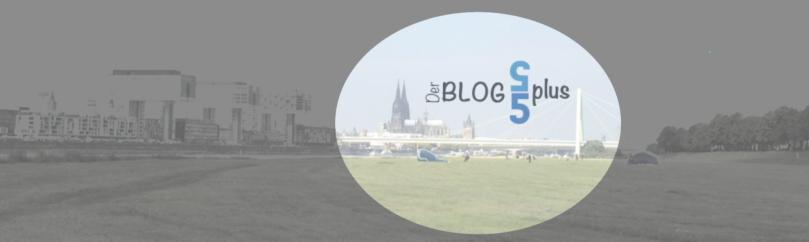 Kranhäuser und Dom in Köln, der Hintergrund für meinen Blog 55 plus