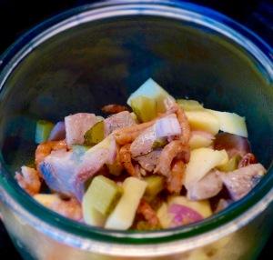 Matjes-Apfel-Salat