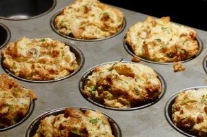 Ein Knödelsufflee als Muffin - locker, luftig, leicht