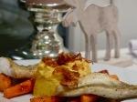 Zander an Süßkartofelpüree