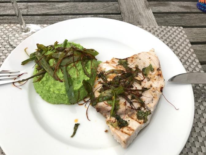 Schwertfisch – mal roh, mal vom Grill