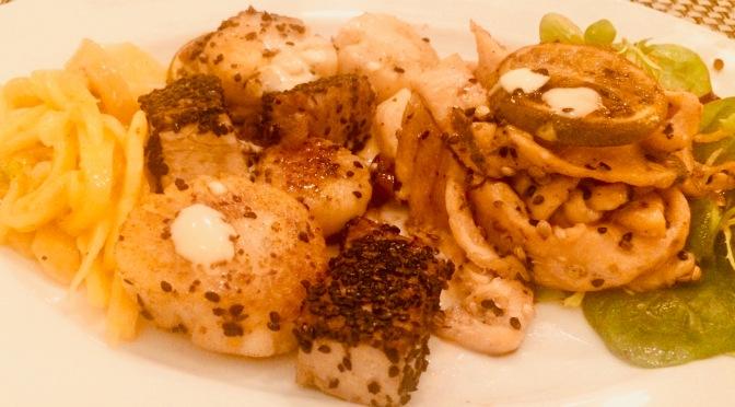Resteessen #1 – Fisch und Jakobsmuscheln