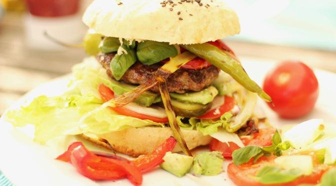 Hamburger Brötchen gut gelungen