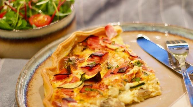 Schinken-Käse-Quiche