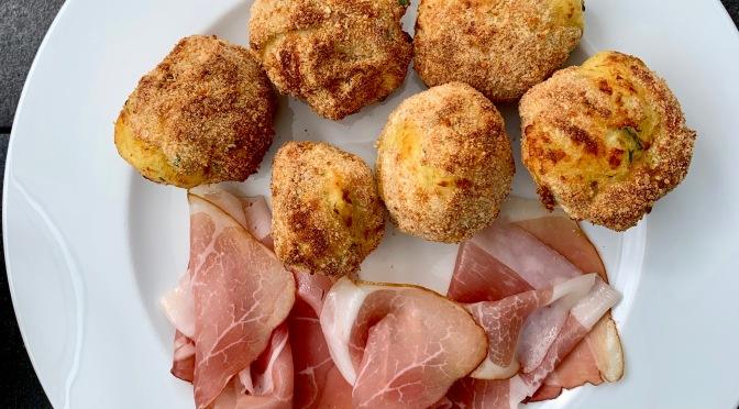 Resteessen #5 –  Kartoffelbällchen von der Grillkartoffel